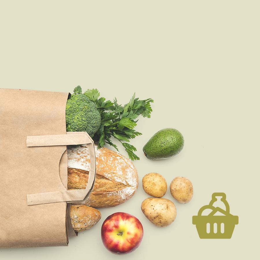 Lebensmittel, Restaurants und Ärzte 1 Gehminute entfernt