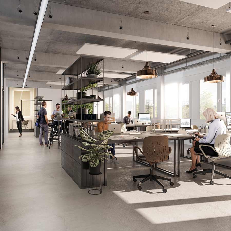 Offenes Loft-Design